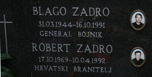 Na grobu Blage Zadre