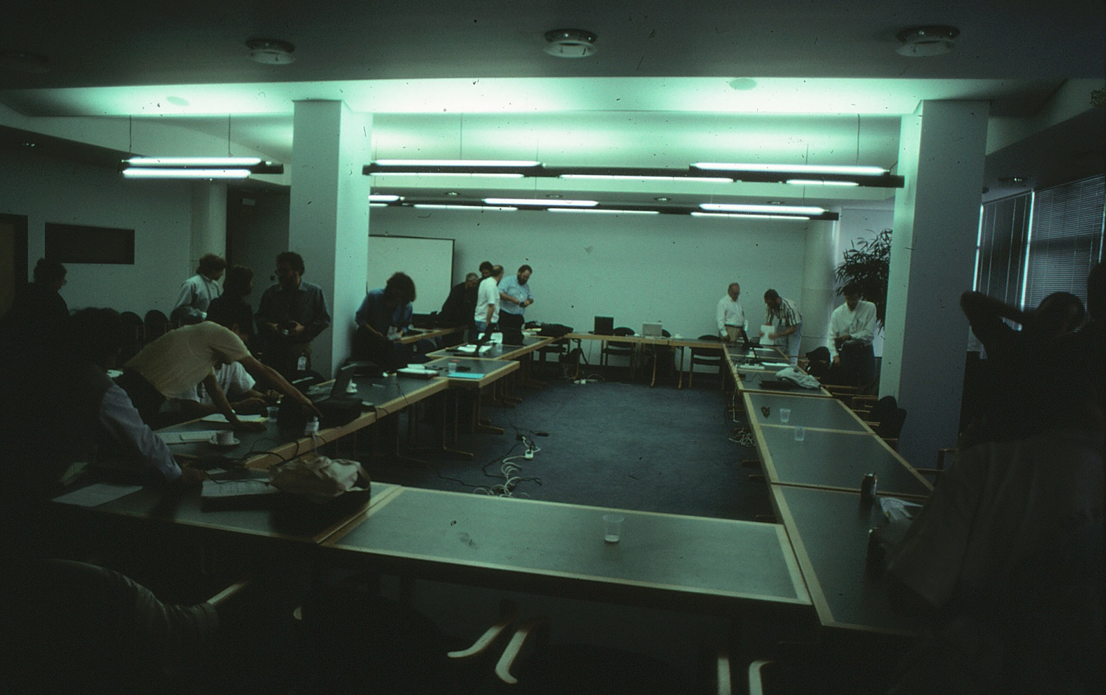 Meeting of the international standards committee for the C++ programming language, hosted at the British Standards Institution in 1997