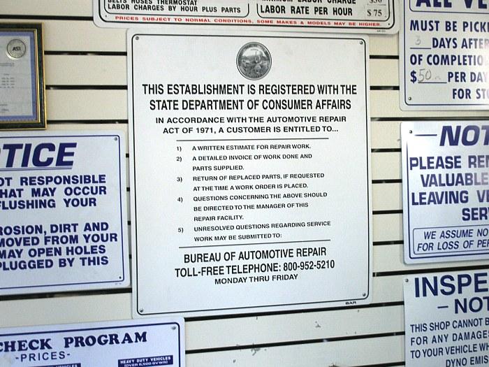 File Cdca Auto Repair Notice Jpg Wikimedia Commons