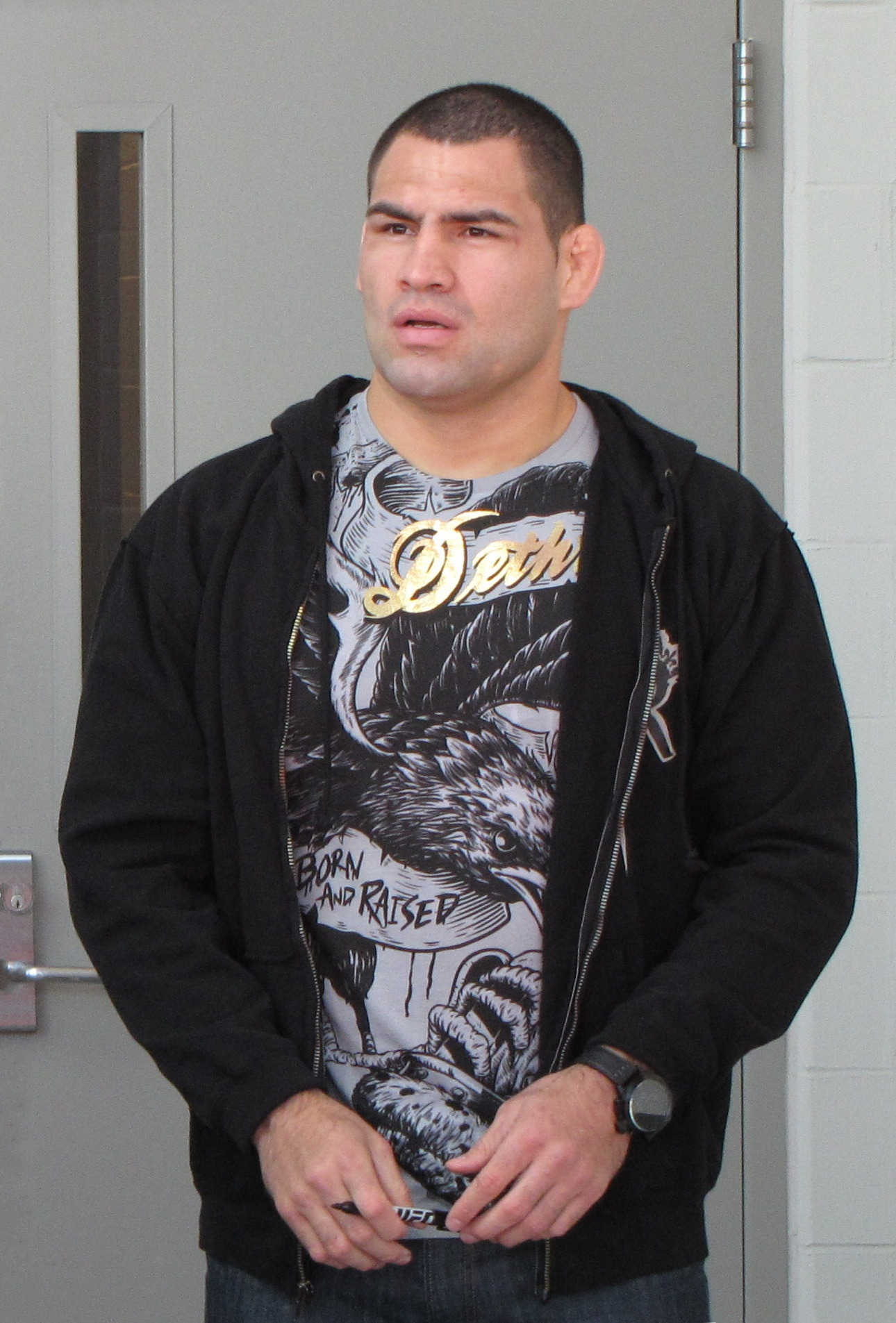 The 36-year old son of father (?) and mother(?) Cain Velasquez in 2018 photo. Cain Velasquez earned a  million dollar salary - leaving the net worth at 12 million in 2018