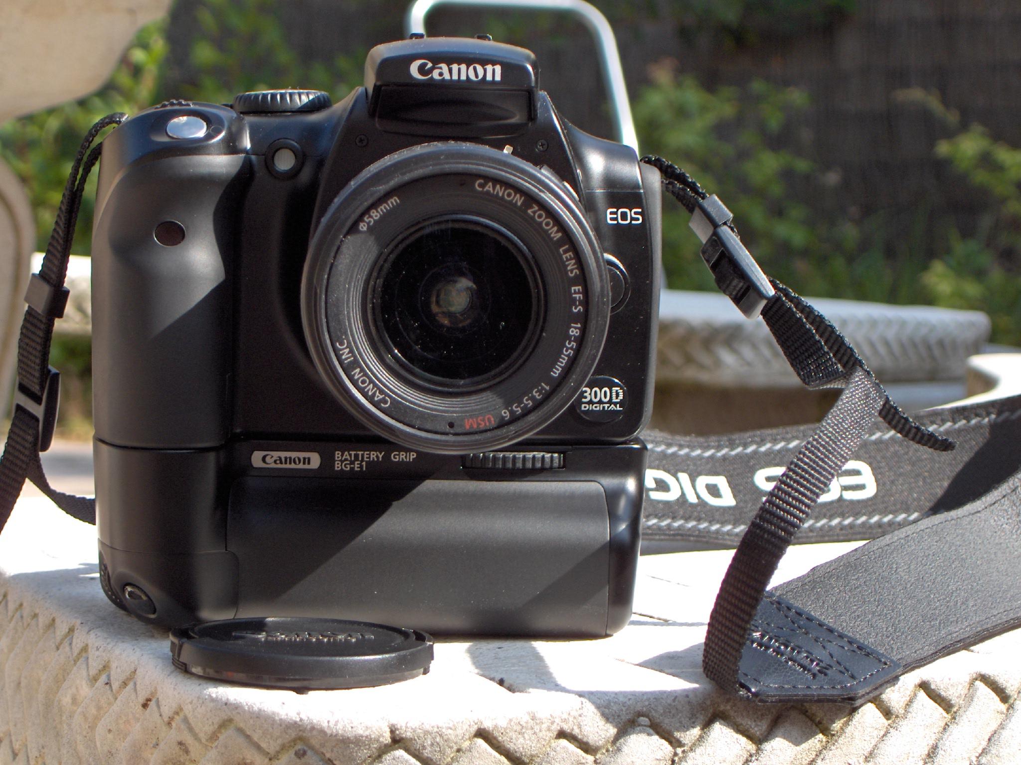 Test : appareil photo Canon EOS 6D - Un sac sur le dos Batterie appareil photo canon eos 600d