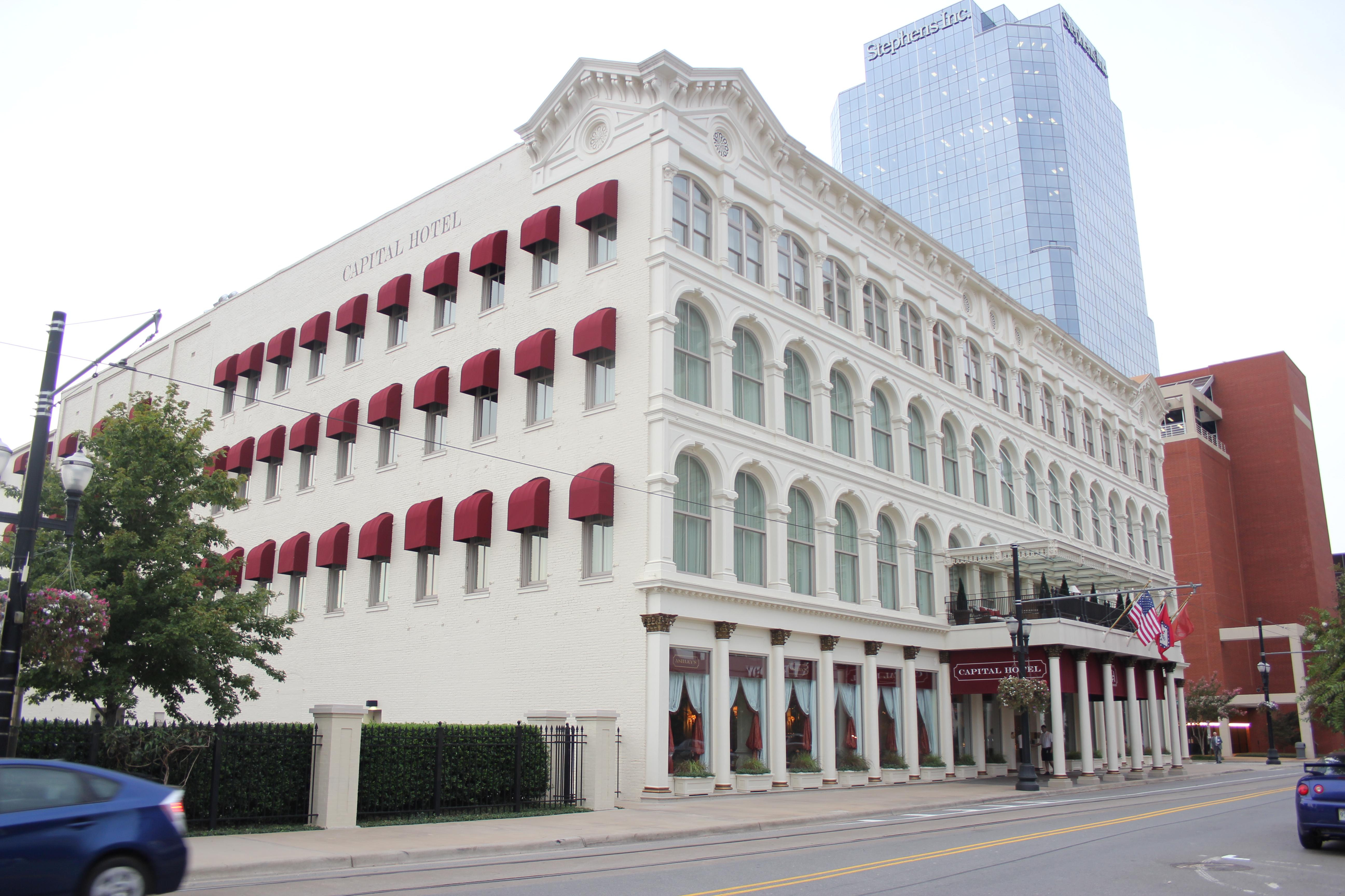 File capital hotel little rock arkansas jpg wikimedia for Little hotels