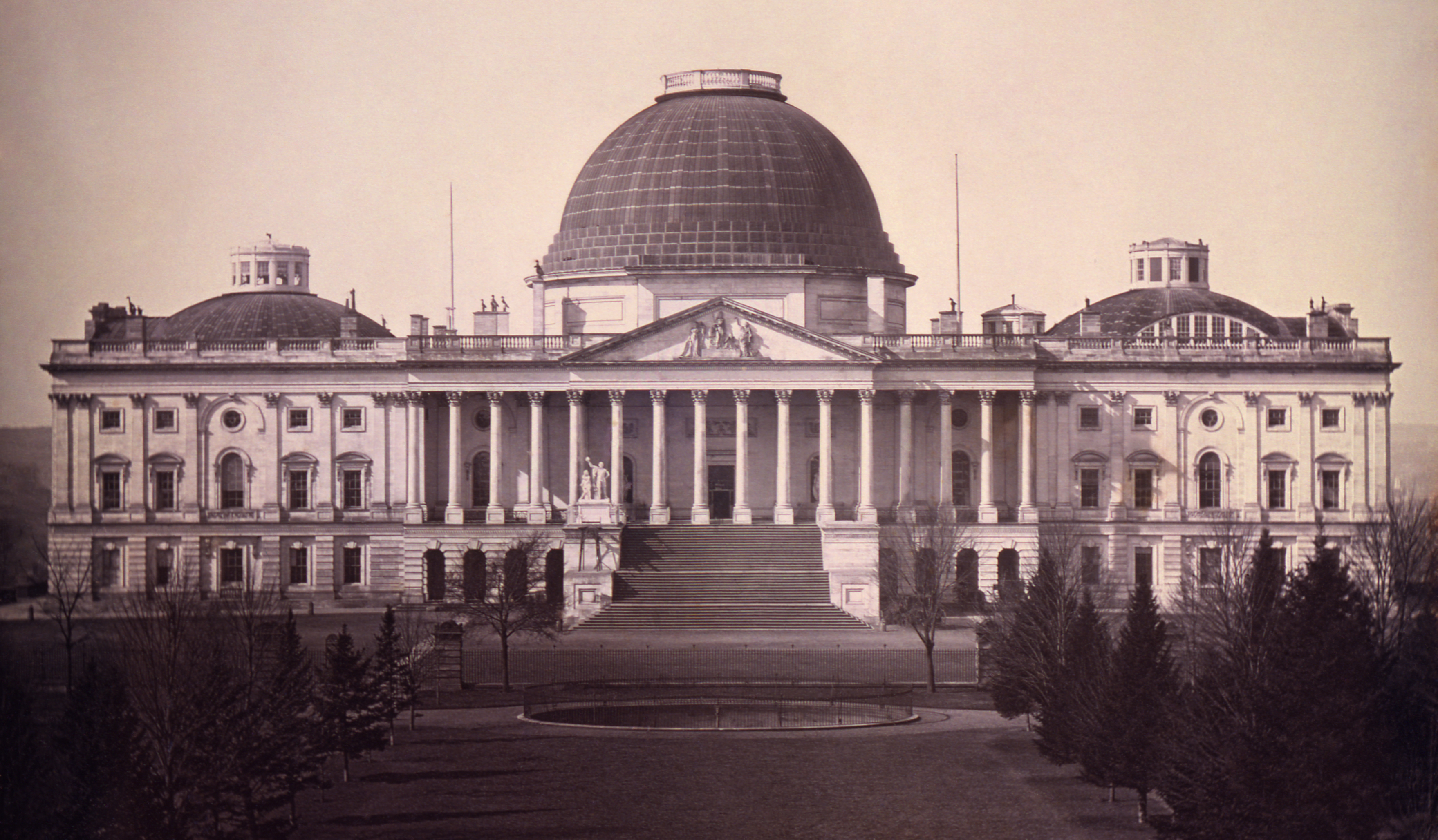US Capitol, 1846, courtesy of the Library of Congress