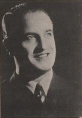 Carlos Montbrun Ocampo en 1950.