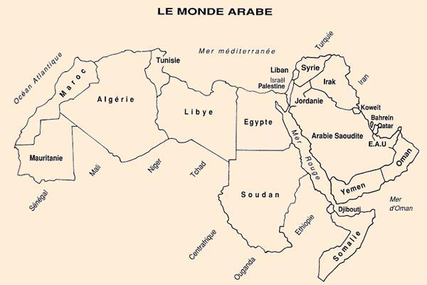 carte du monde arabe File:Carte monde arabe.   Wikimedia Commons