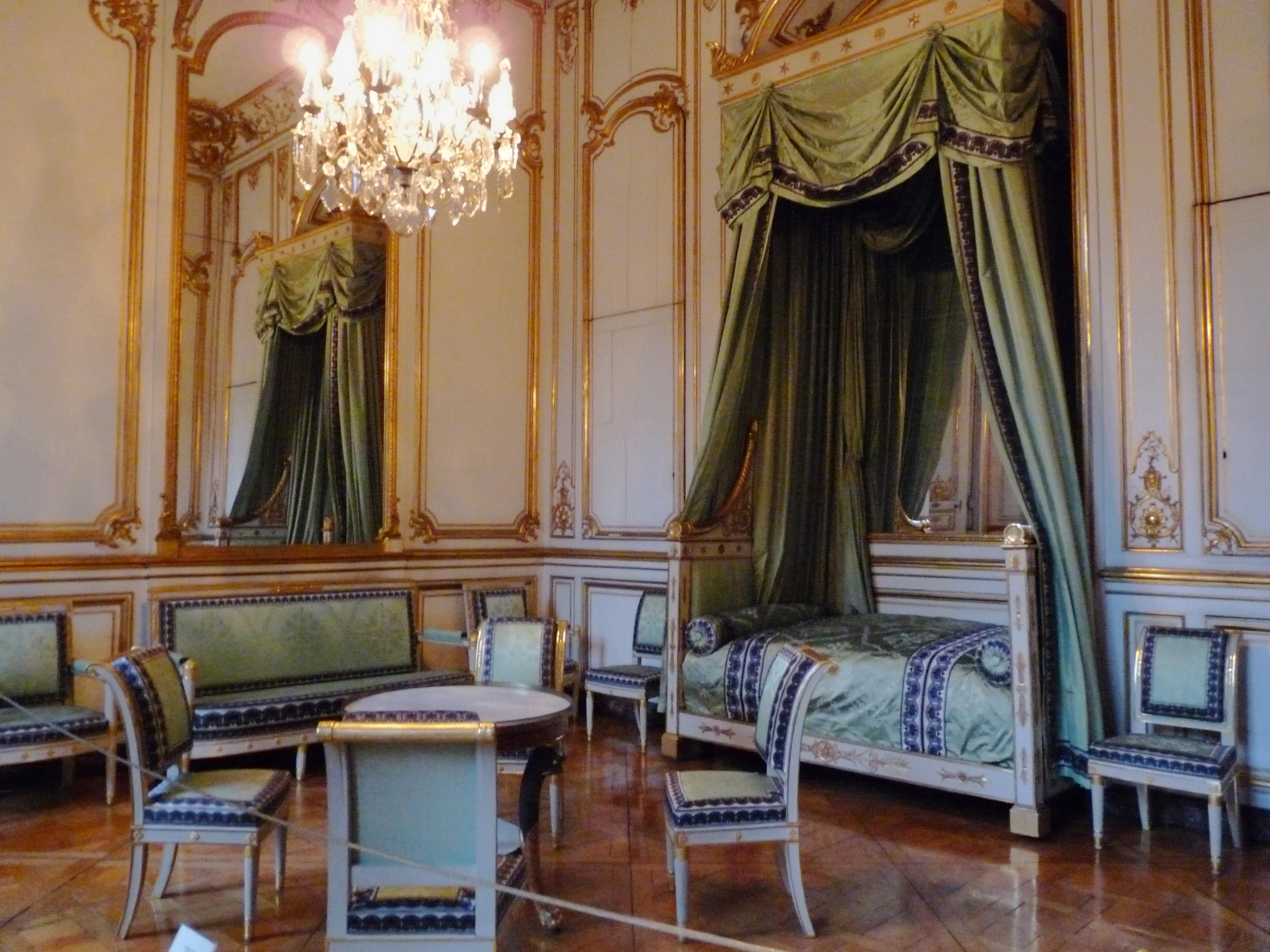 File Chambre  coucher de Napoléon Ier Palais Rohan Strasbourg 1