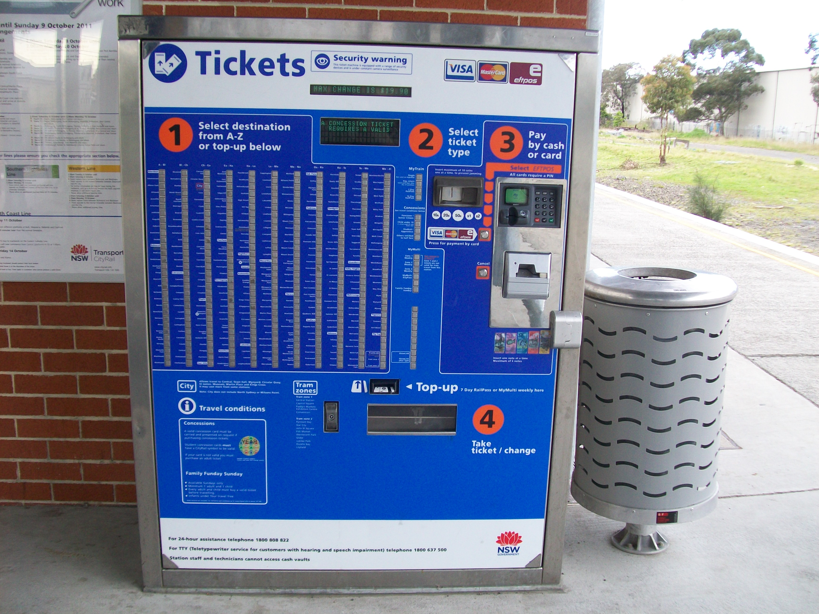 zone 3 bus ticket sydney - photo#22