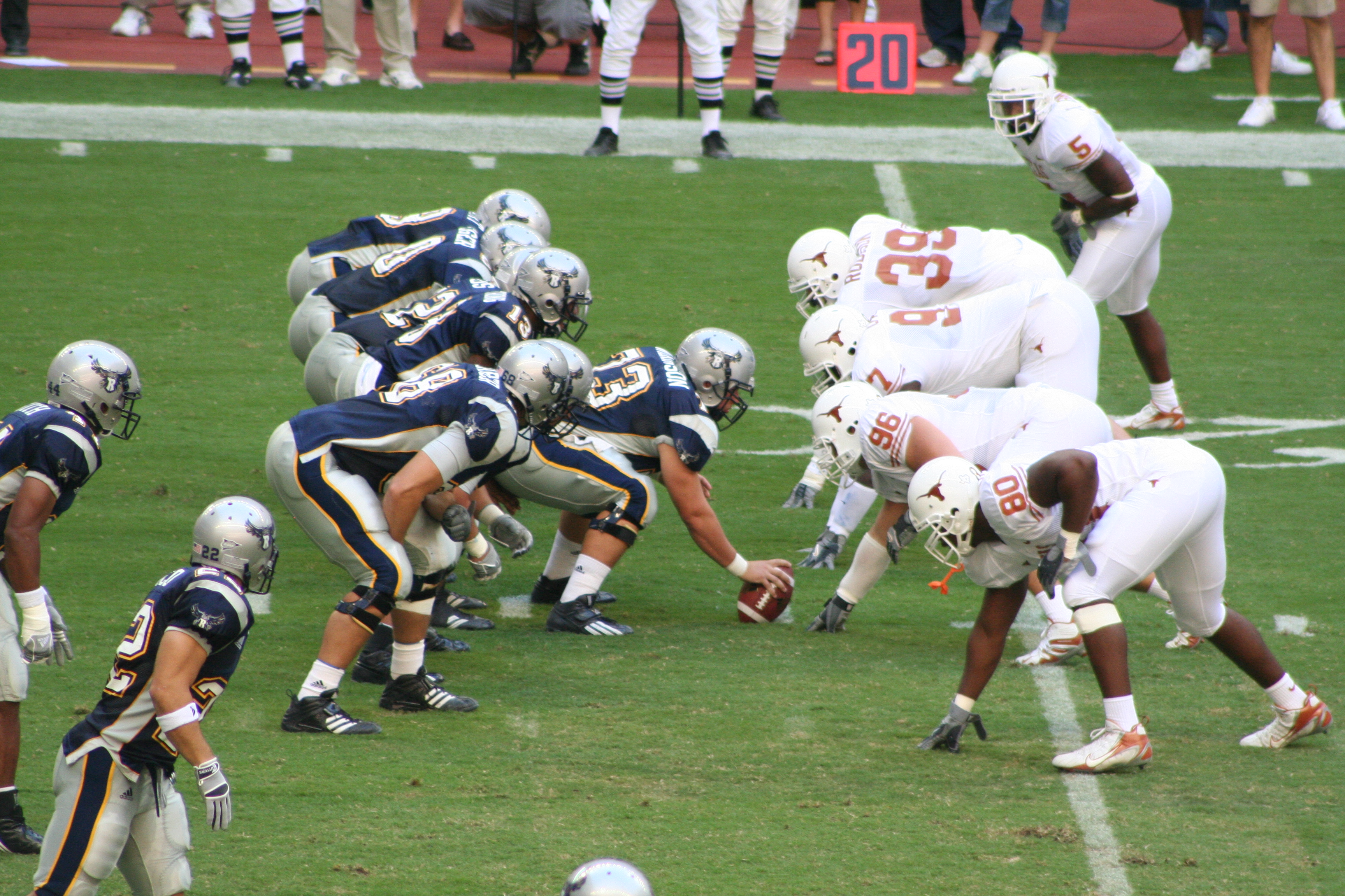 File college football rice owls vs texas longhorns