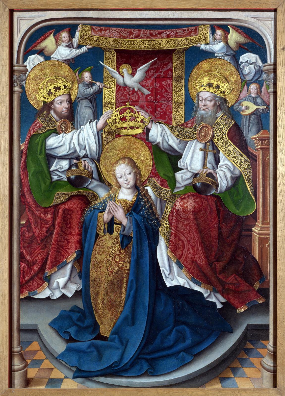 Filecouronnement Vierge National Galleryjpg Wikimedia