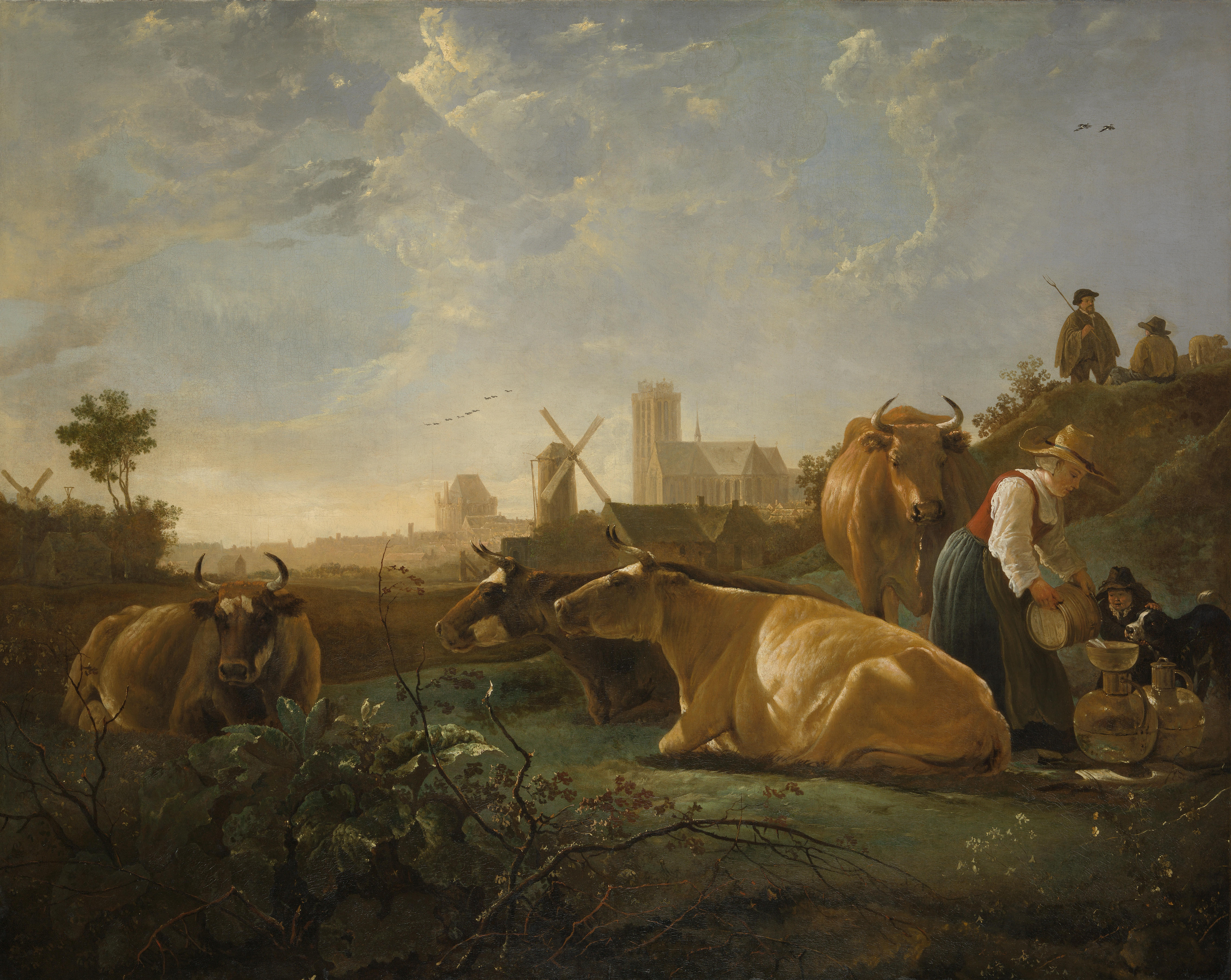 Famous Cow Painting