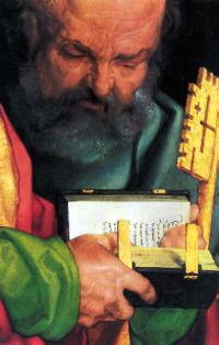 Detail from Albrecht Dürer