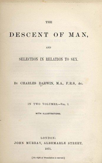 The descent of man darwin pdf download