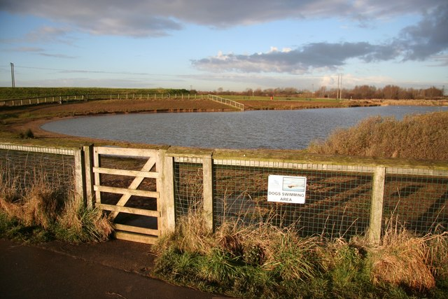 Dog swimming area - geograph.org.uk - 1079227