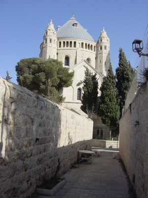 "Dormition Church, situated on the modern ""..."