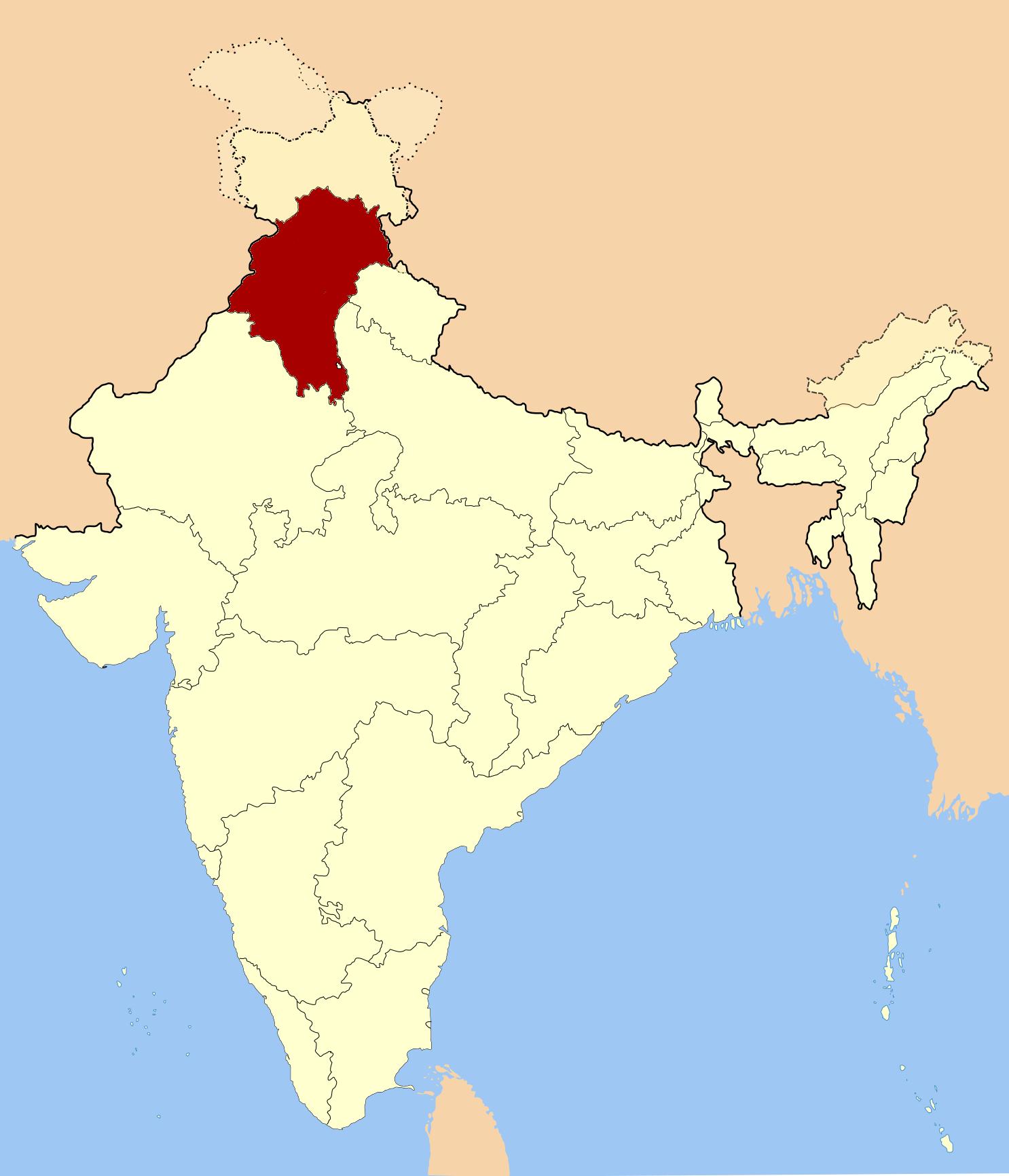 File:East-Punjab-Map jpg - Wikimedia Commons