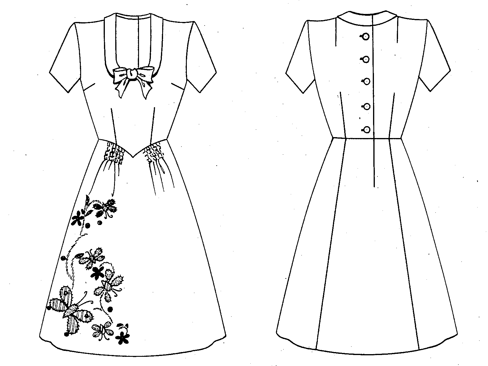 Dress design drawing images