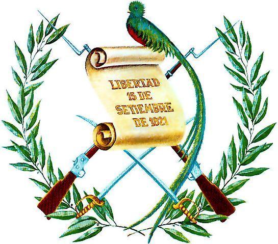escudo de guatemala - informacion educativa