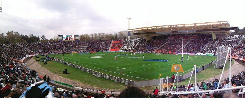 Depiction of Estadio Malvinas Argentinas