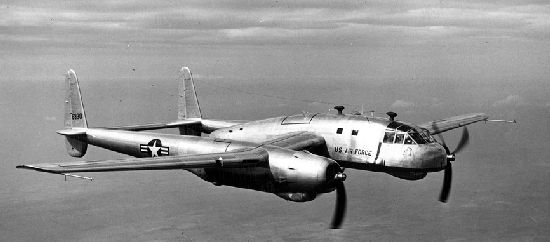Fairchild XC-120 Packplane without container