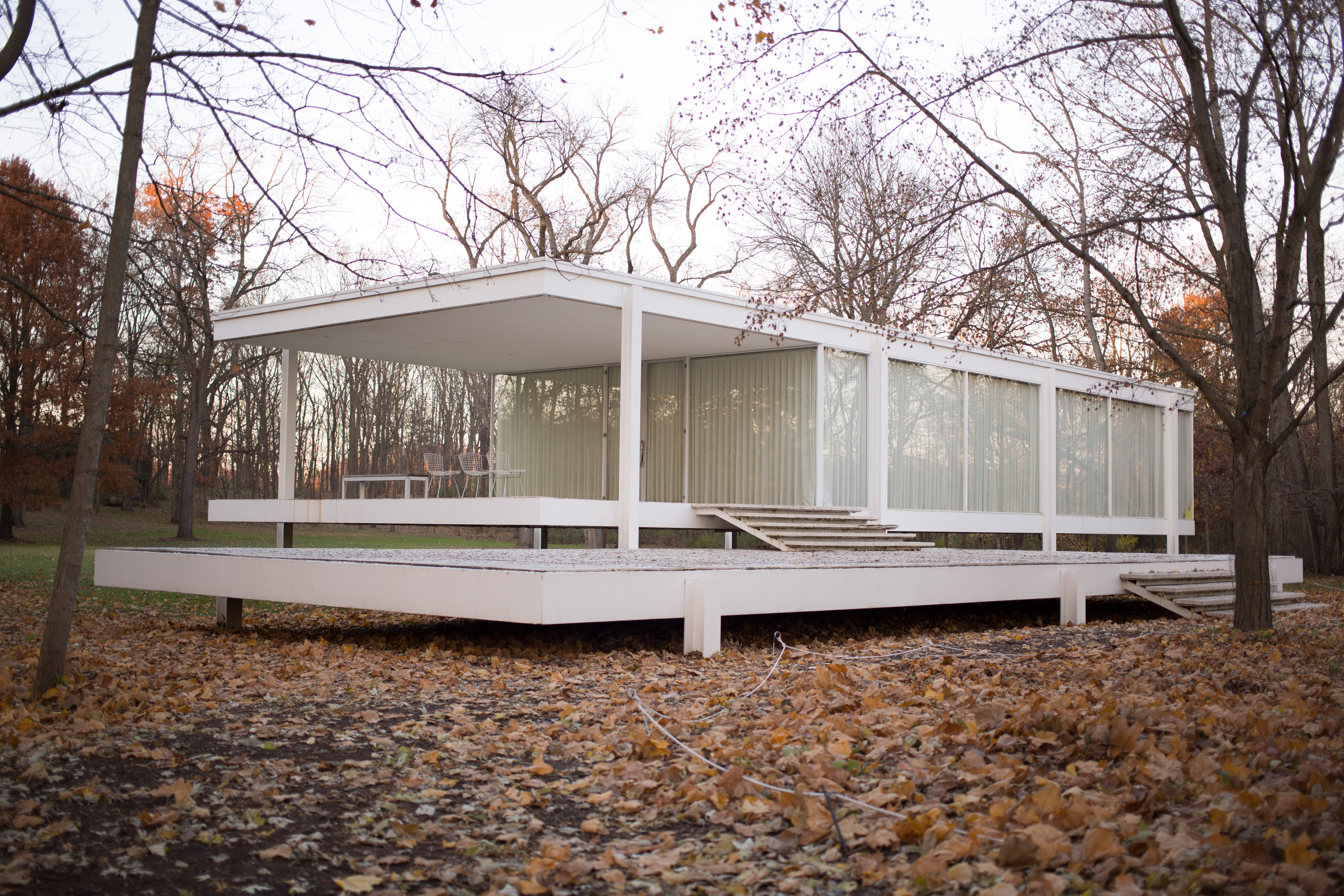 file farnsworth house by mies van der rohe exterior wikimedia commons. Black Bedroom Furniture Sets. Home Design Ideas