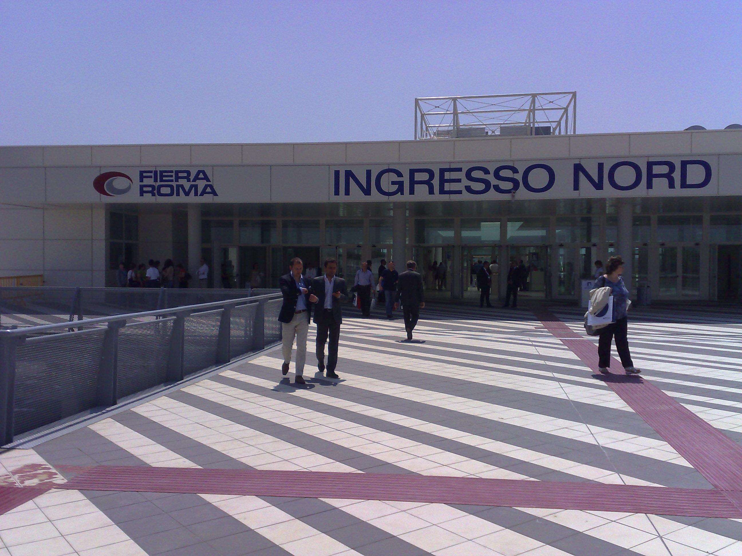 file fiera di roma ingresso wikimedia commons