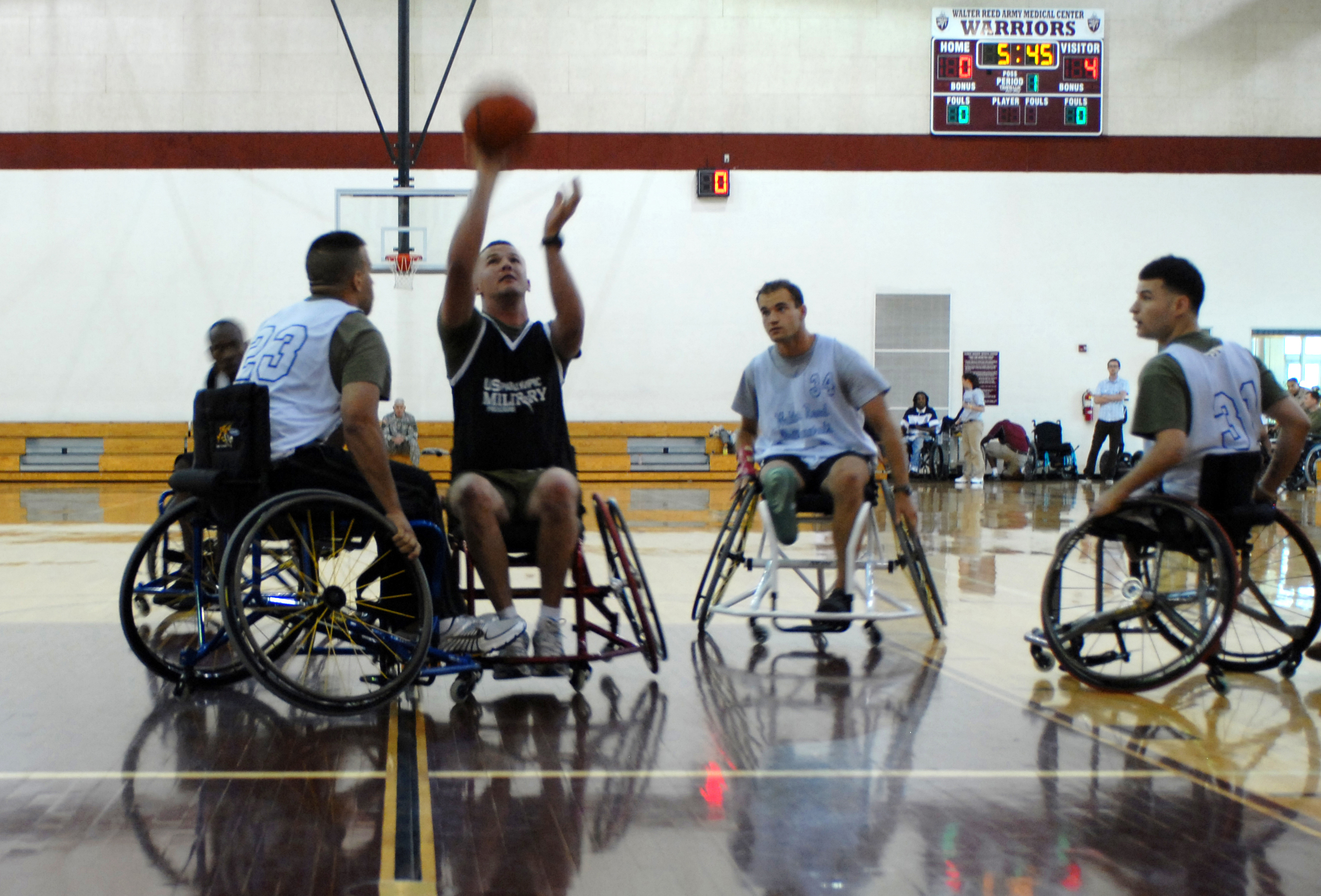 National Veterans Wheelchair Games Annual 'Kids Day' Event