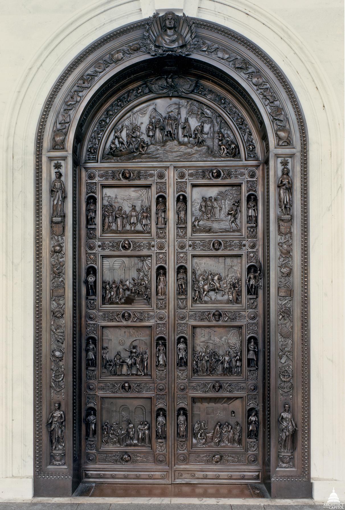 FileFlickr - USCapitol - Columbus Doors.jpg & File:Flickr - USCapitol - Columbus Doors.jpg - Wikimedia Commons