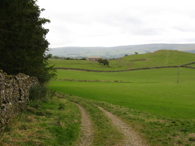 Footpath to West Witton - geograph.org.uk - 556420