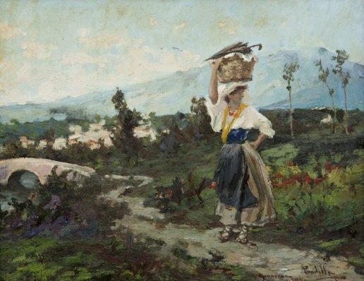 Oil Painting Spanish Moss