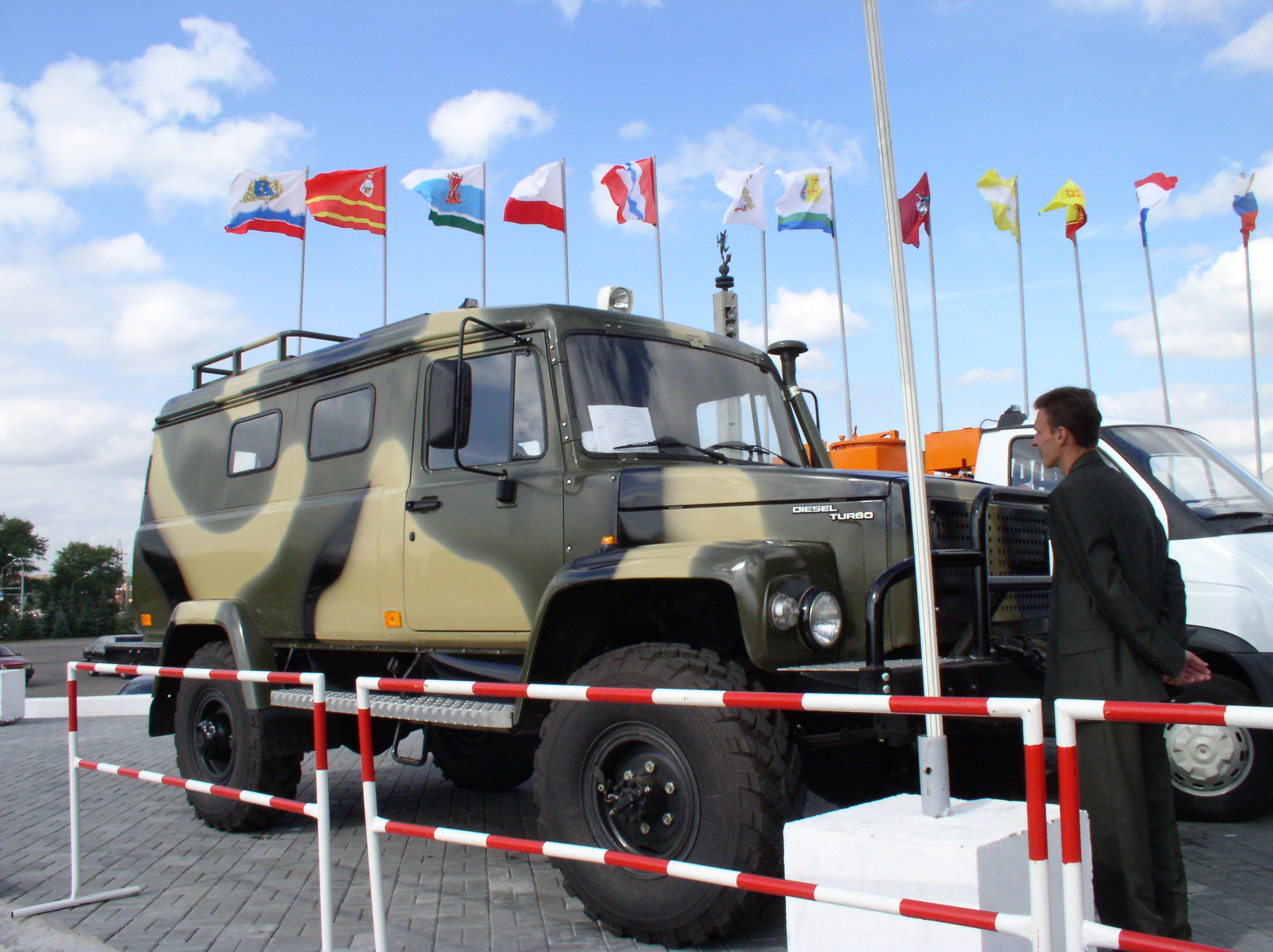 ГАЗ 330811 Вепрь, полный привод.: продажа, цена в Нижнем ...
