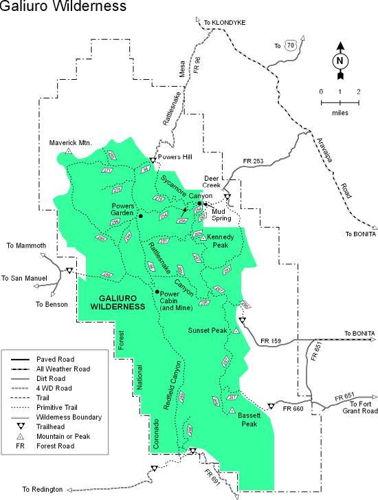 Galiuro Mountains - Wikipedia