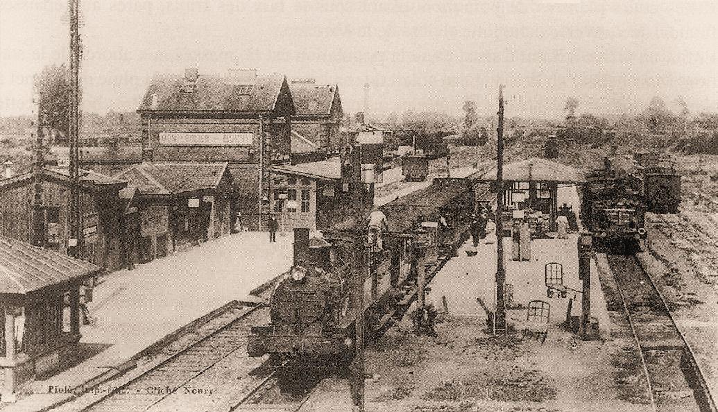 Gare de Montérolier-Buchy