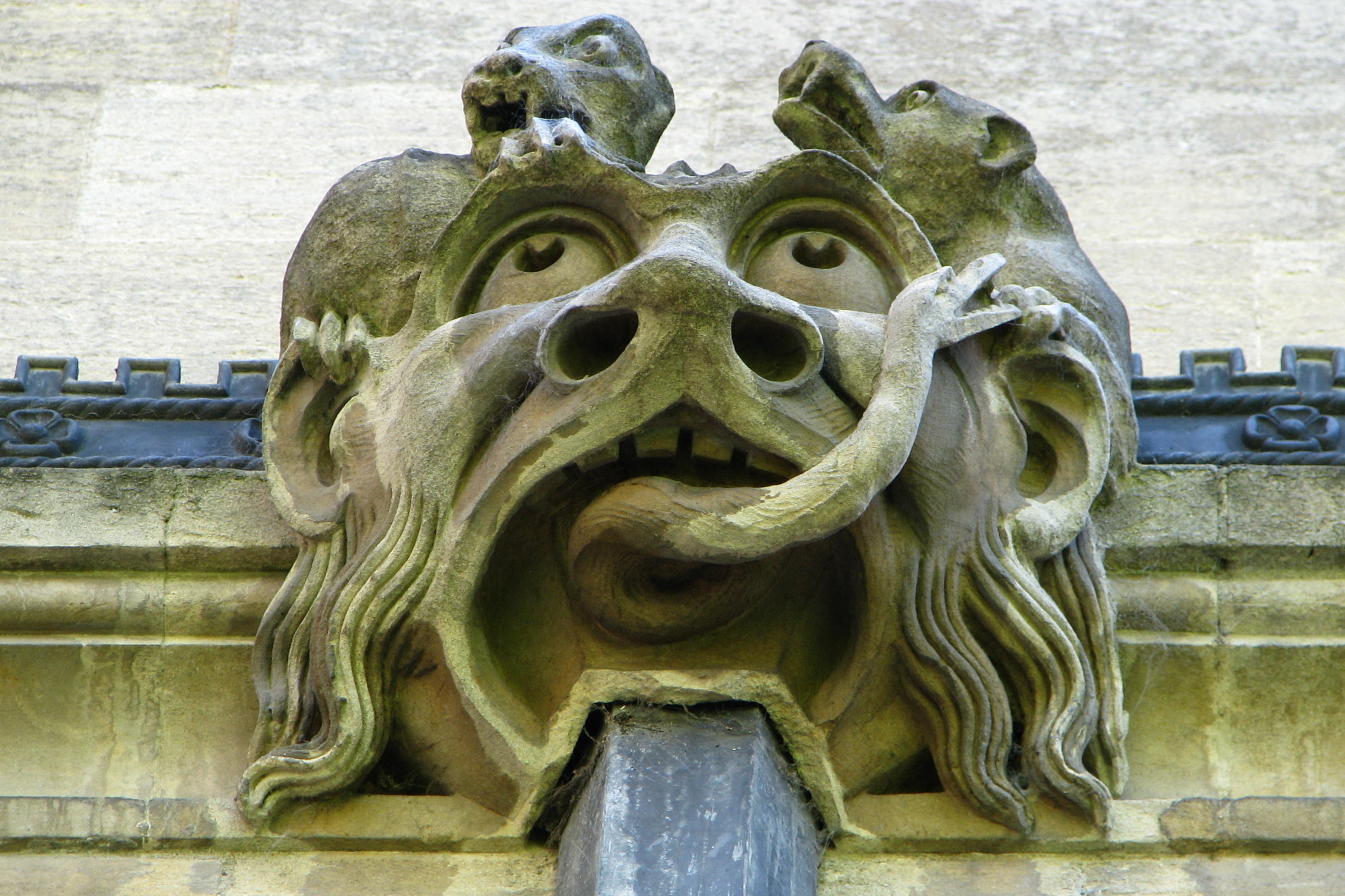 Gargoyle on Magdalen College, Oxford