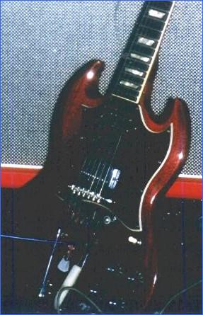 Gibson guitar SG Standard 1969