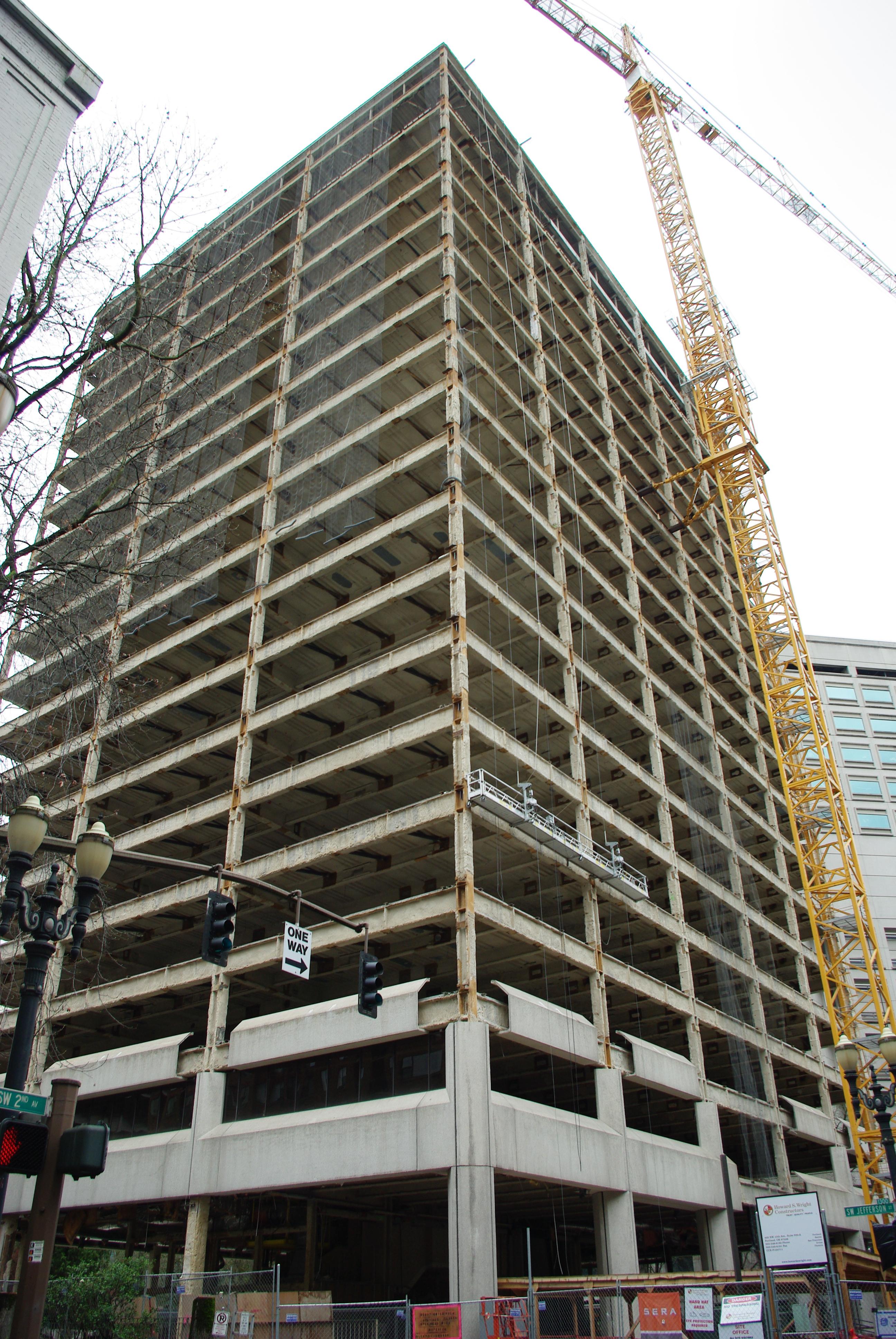 File green wyatt federal building renovation april 2011 for Renovation wiki
