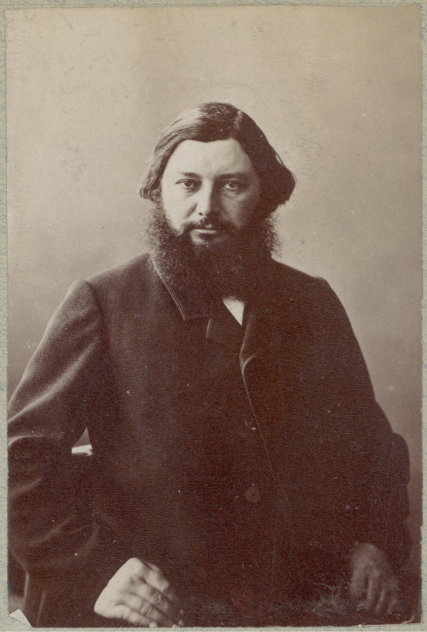 Image of Gustave Courbet from Wikidata