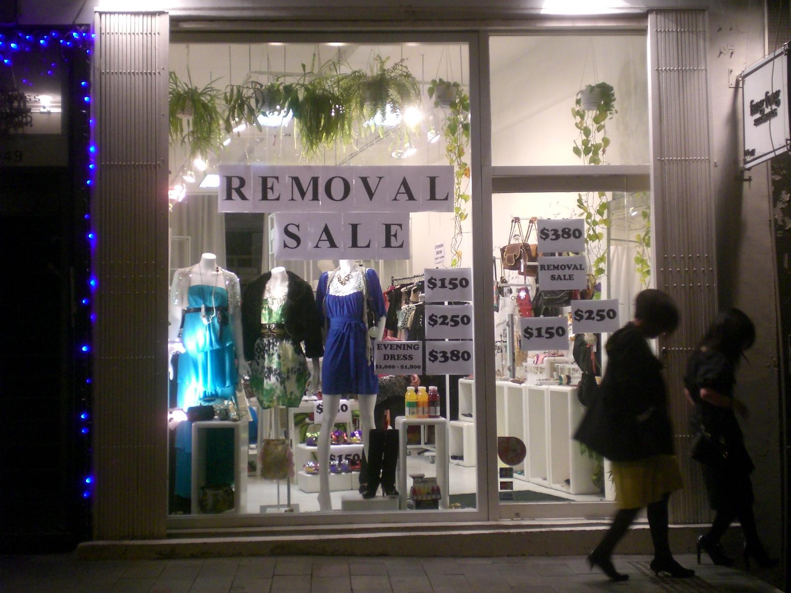 Soho clothing stores