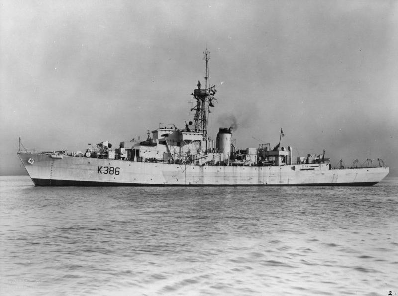 HMS Amberley Castle (K386) - Wikipedia