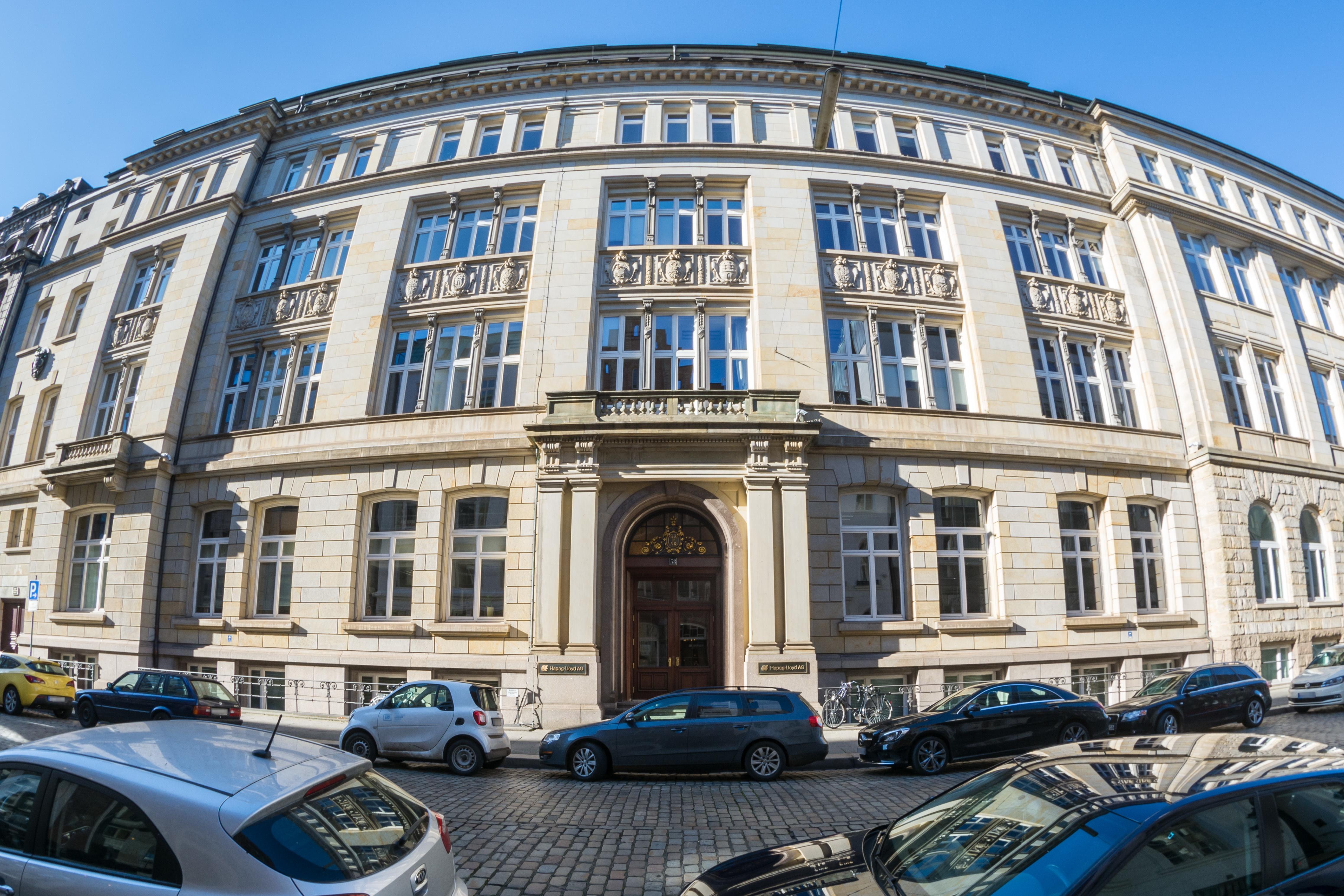 Filehapag Lloyd Haus Hamburg Altstadtferdinandstraße 58fassade
