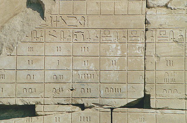 ancient numbering systems essay example Egyptian mathematics numbers hieroglyphs and math problems hieroglyphic numbers the egyptians had a decimal system using seven different for example 1/2.