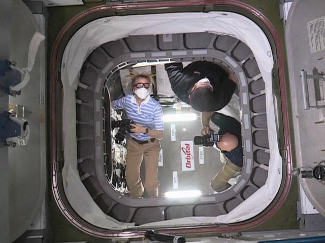 File:ISS-37 Cygnus hatch is open.jpg