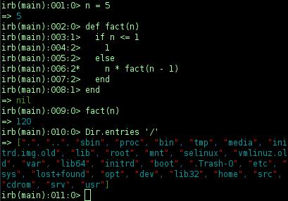 Interactive Ruby Shell - Wikipedia
