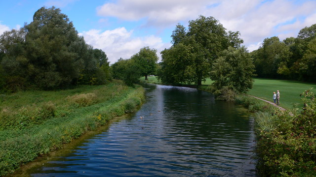 Itchen Navigation at Winchester - geograph.org.uk - 375772