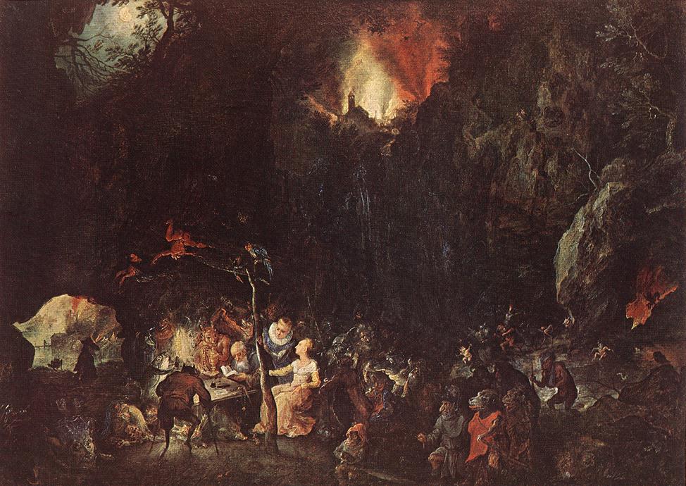 Famous Devil Paintings