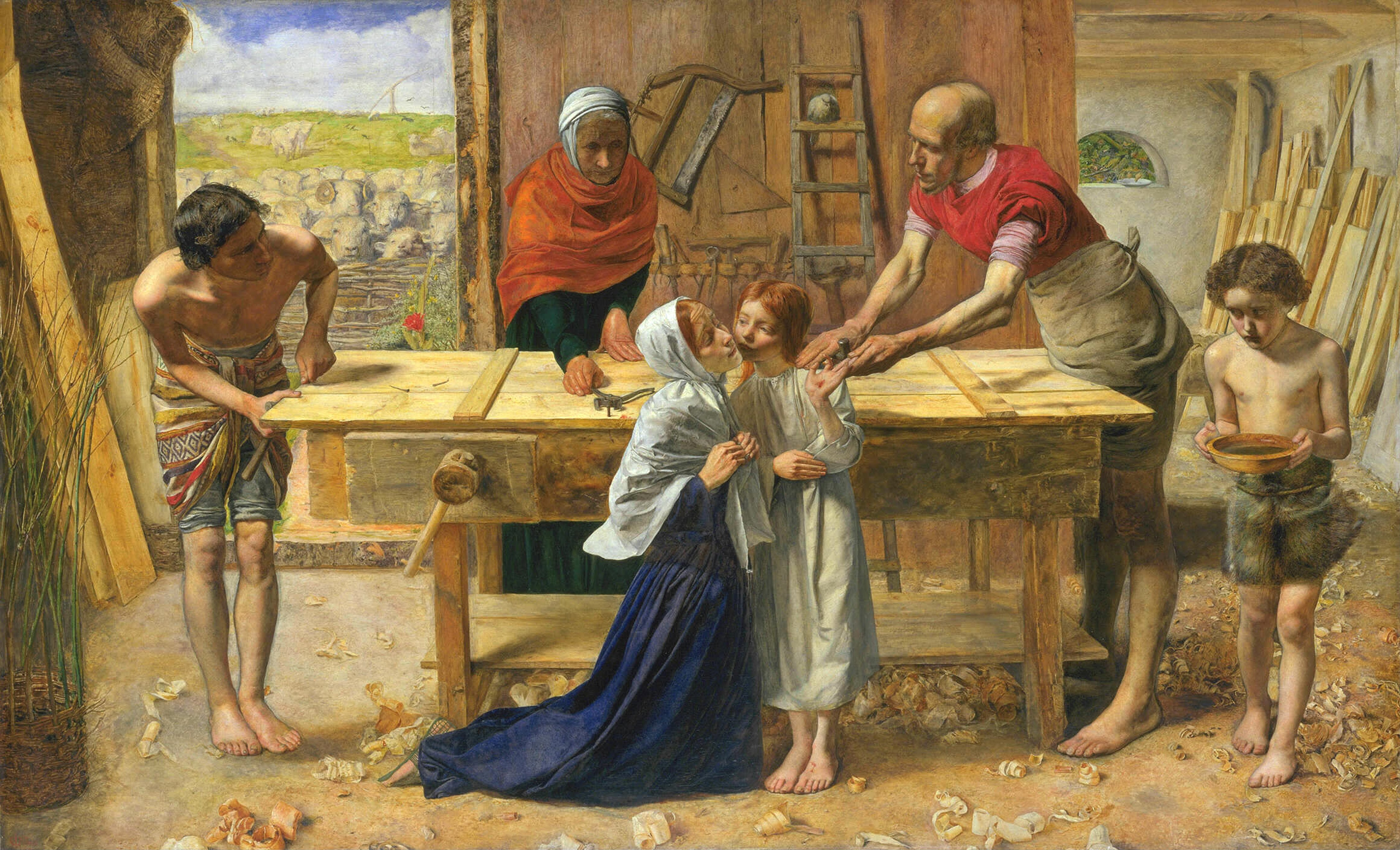 File:John Everett Millais   Christ In The House Of His Parents (`The