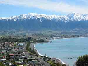 Kaikoura Minor urban area in Canterbury, New Zealand