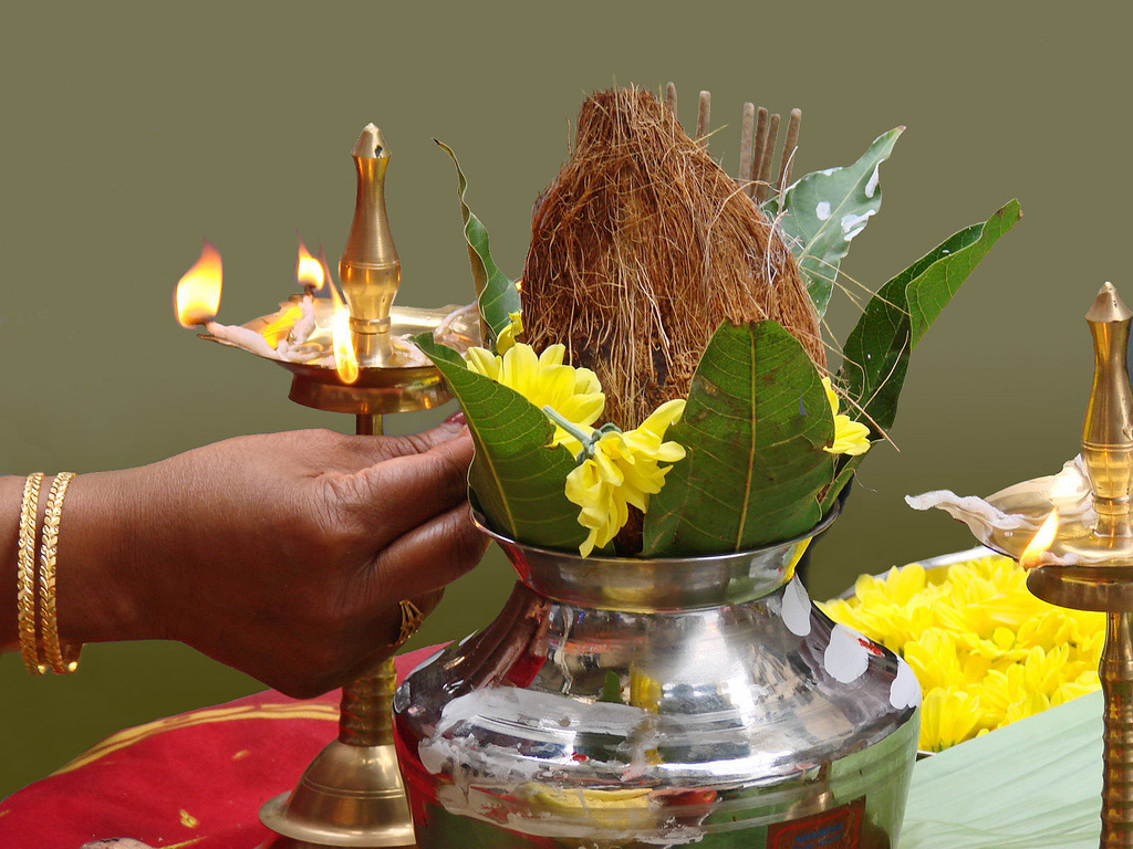 File Kalash Pujan Jpg Wikimedia Commons