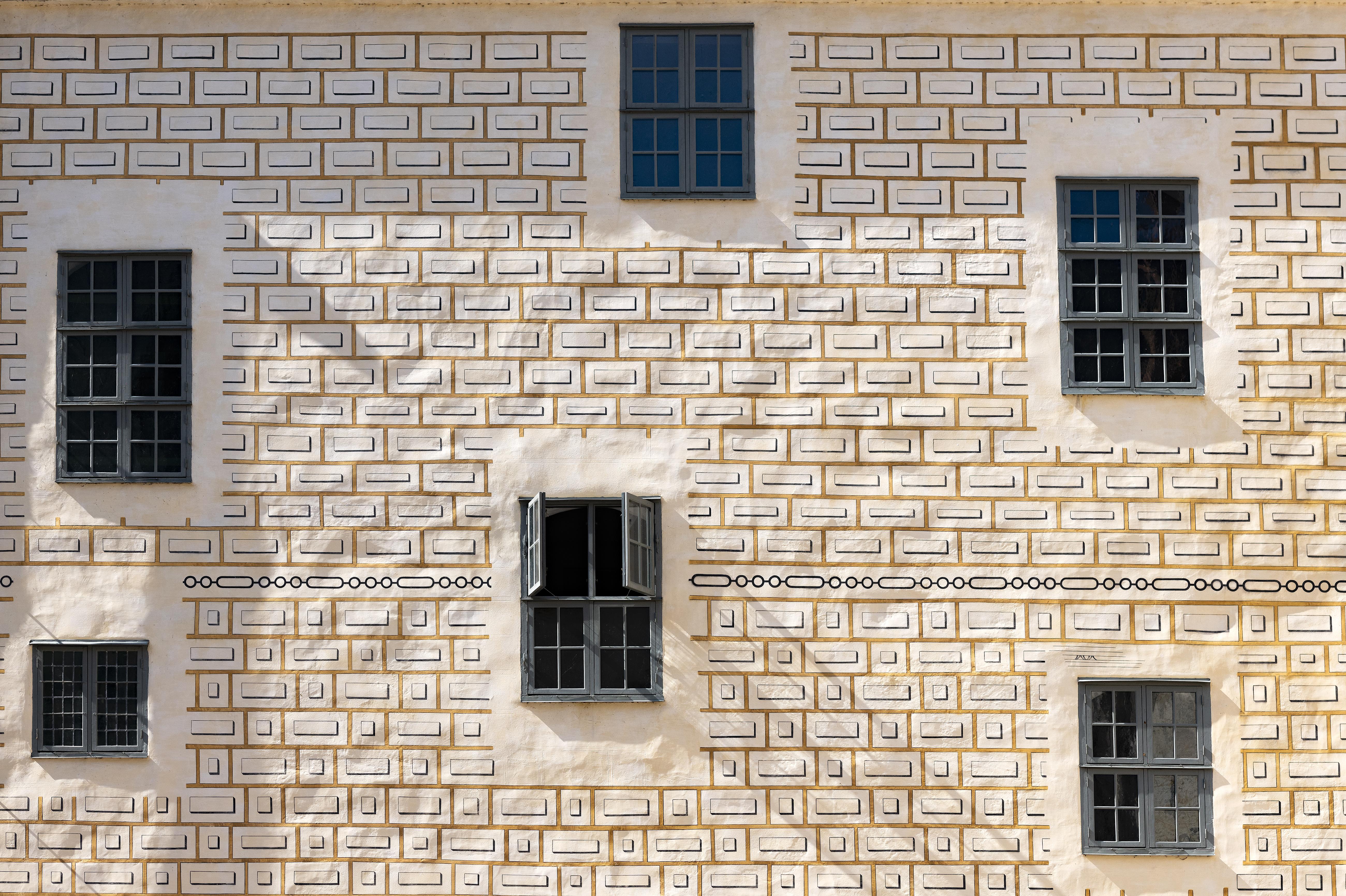 Kalmar slott borggården fasad. Foto: användare Arkland CC BY-SA 4.0