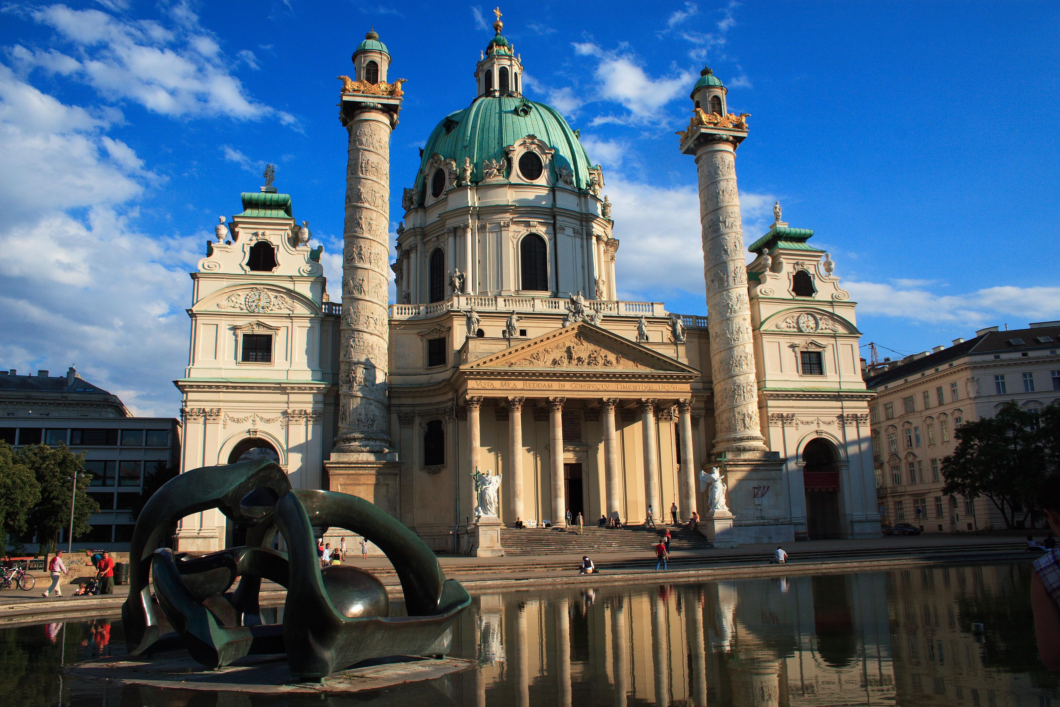 Austrija Karlskirche,_Vienna
