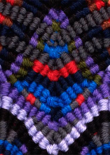 Мастер-класс по плетению макраме: РЃлочка из брид.